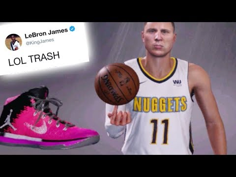 NBA Players React To My New Custom Shoe! NBA 2K18 My Career!
