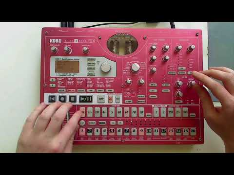 Korg Electribe ESX-1 Tutorial (Part 4) - Filters + Modulation