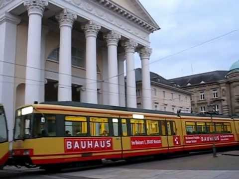 Karlsruhe, Germany : tramway and architecture