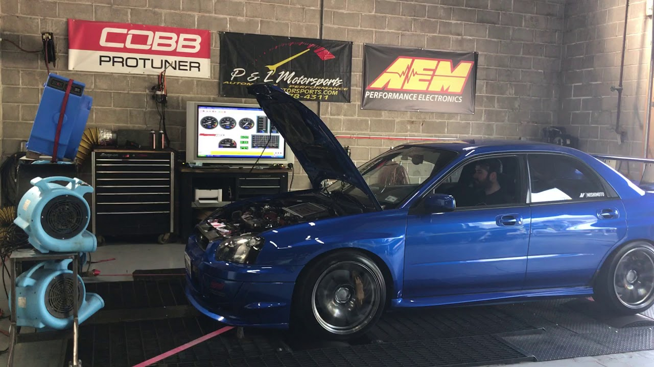2004 Subaru Sti Stage 2 Cobb Dyno Youtube