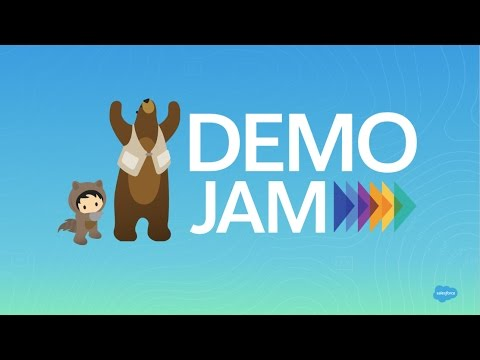 AppExchange Demo Jam for Marketers: January 2017