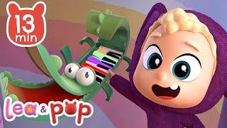Aprende los colores con el piano mágico de Pop 🌈🎹 vídeos infantiles de Lea y Pop