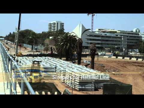 Pretoria to Hatfield Construction - November 2010