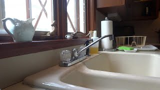 Kitchen Faucet No Hot Water Flow Youtube