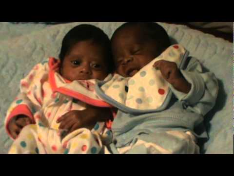 My twin babys baby boy and baby girl youtube