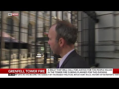 Former Housing Minister Gavin Barwell refuses to answer questions on fire safety report!