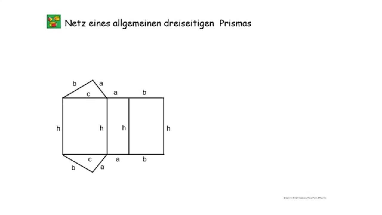 Netz zeichnen prisma