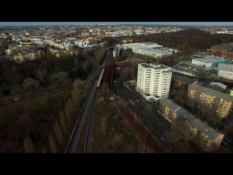 Berlin Victory Column S-bahn and Teufelsberg 4K
