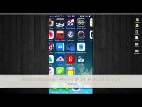 How To Backup Iphone Ipad Ipod In Icloud How To Make Back Up In Icloud