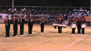 "2010 Monroe, Louisiana battle of the bands (drum line) jacksonvlle high school band ""Juke box Band"""