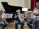 Mark Wilkinson plays 'She' by Charles Aznavour, cornet solo
