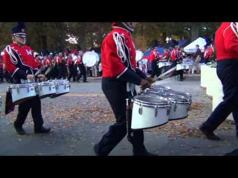 The University of Mississippi Drumline Cadence