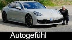 Porsche Panamera Turbo FULL REVIEW 550 hp Autobahn test driven 2018/2017 - Autogefühl