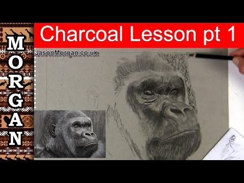 Charcoal Drawing Lesson - Part 1