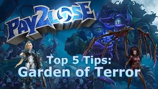 Heroes of the Storm: Top 5 Tips for Garden of Terror