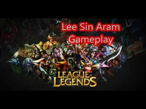 League Of Legends Lee Sin Aram (Greek)!