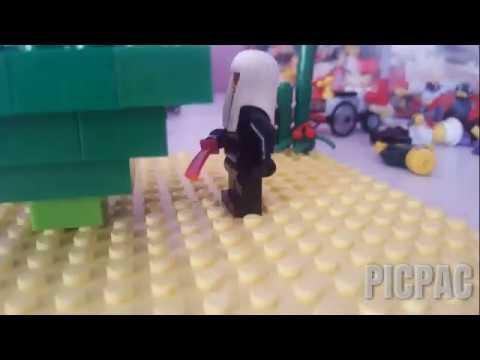 Lloyd vs harumi  #picpac #stopmotion #lego