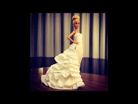 Tuvalet Kağıdı Ve Peçeteden Barbie Elbiseleri- Barbie Clothes From Toilet Paper And Napkins