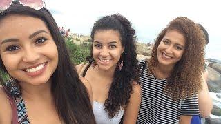 VLOG: Copacabana, passeio de Bike, Arpoador com Mari Morena e Amanda Santana