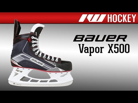 4ff23b37b8a Bauer Vapor X500 Ice Hockey Skate Review - YouTube