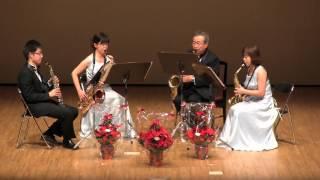 Jeanine Rueff - Concert en Quatuor 2015.12.23 第32回サクソフォンコ...