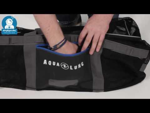 AQUA LUNG Explorer Mesh Duffle Bag - www.simplyscuba.com