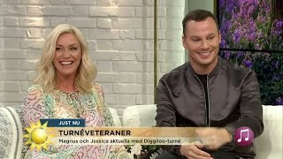 Kan ni kommunslogans, Magnus Carlsson och Jessica Andersson? - Nyhetsmorgon (TV4)