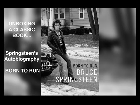 Springsteen's Born to Run Autobiography (and other stuff) Mp3
