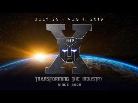 PHP X - 2019 Annual Convention Teaser