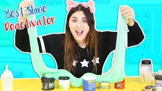 TESTING HAIR GEL FΟR SLIME SOFTENER PART 3 | best slime deactivator | Slimeatory #244