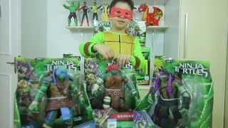 Brinquedo das Tartarugas Ninjas - Parte 1