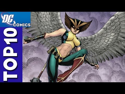 Top 10 Hawkgirl Moments From Justice League