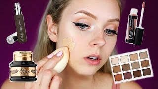 FULL FACE FIRST IMPRESSIONS | Trying New Makeup! thumbnail