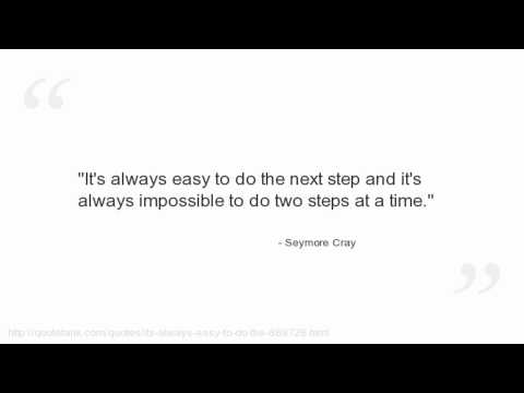Seymore Cray Quotes