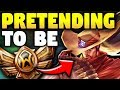 PRETENDING TO BE A BRONZE YASUO MAIN WHILE BEING COACHED! (DIAMOND IN DISGUISE) - League of Legends