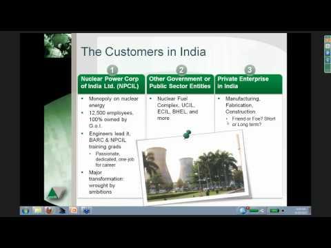 Webinar: Opportunities in India's Nuclear Energy Market