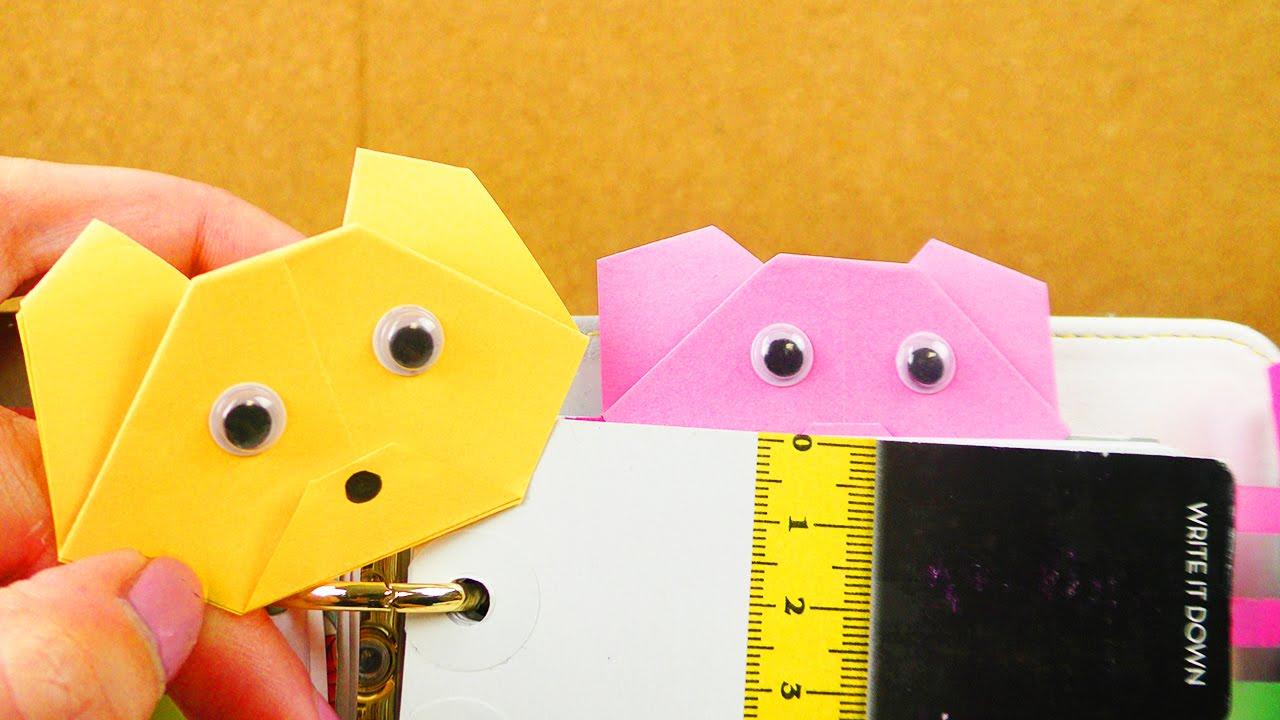 b rchen lesezeichen falten einfach super s geschenk idee origami youtube. Black Bedroom Furniture Sets. Home Design Ideas