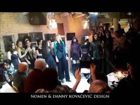 Nomen&Danny Kovacevic Design at Ben Akiba/ XV Belgrade Art Show