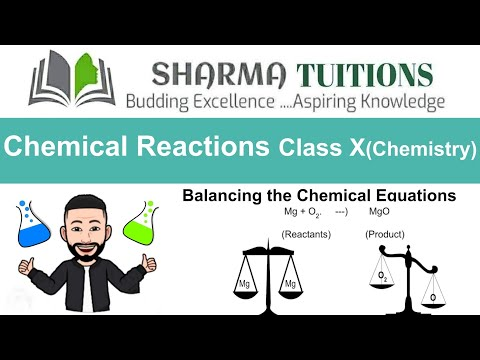 Chemical Reactions And Equations Class 10 (Chemistry)Part 4 - Balancing The Chemical Equation