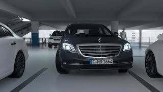 2018 W222 NEW Mercedes Benz S Class Facelift   Remote Parking Assist into Narrow Parking Spaces