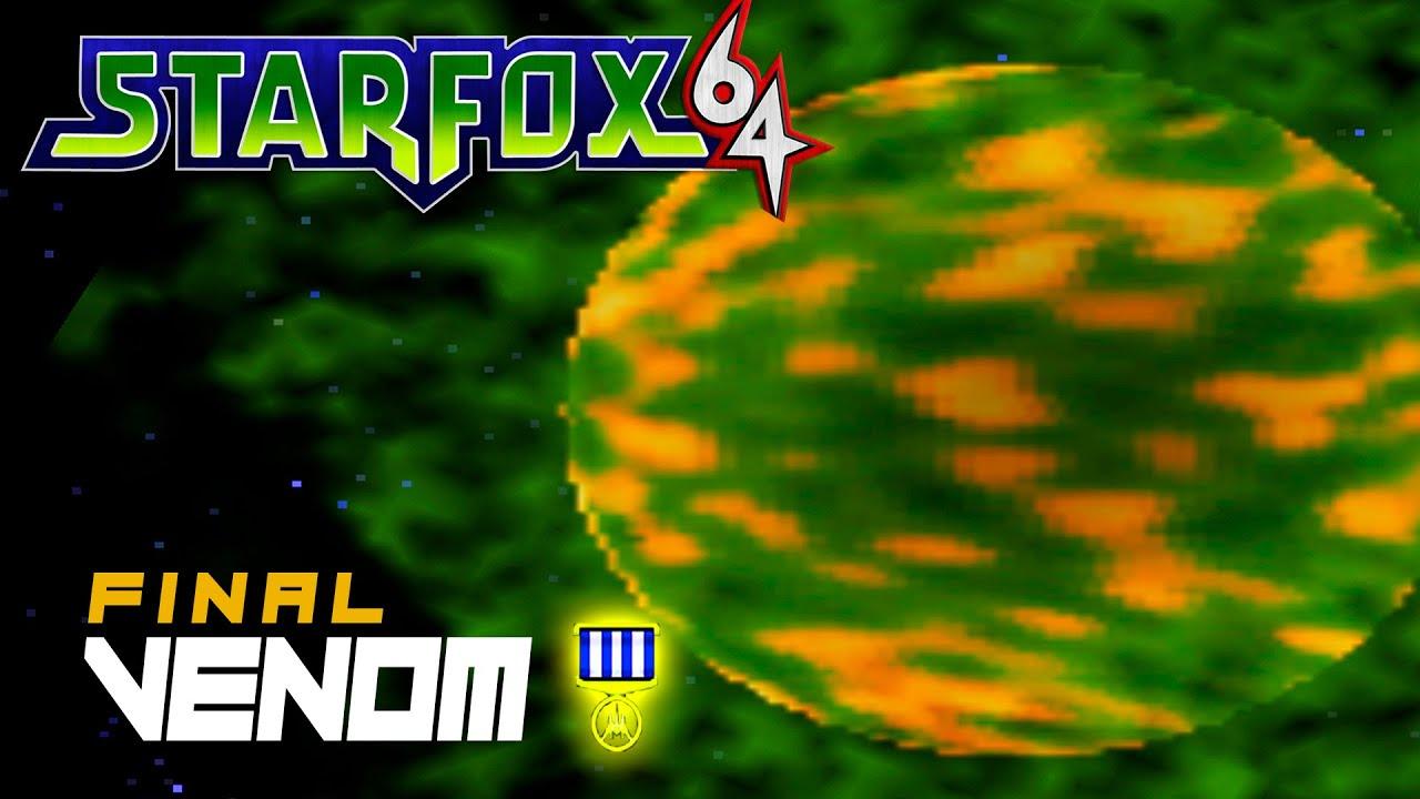 STAR FOX 64: VENOM (Medalla: 200 pts) - ESPAÑOL/NO COMENTADO (Real Ending)