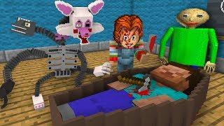 Monster School RIP HEROBRINE - BEST Season FUNNY - Minecraft Animation for Kids