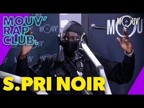 Youtube: S.PRI NOIR:«avec du recul, j'aurais pas sorti«État d'esprit» pendant le confinement»