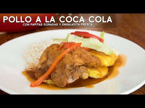 COMO PREPARAR POLLO A LA COCA COLA FACIL Y RÁPIDO | COMIDA PERUANA | ACOMER.PE