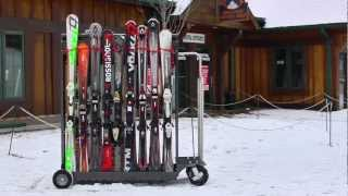 Alpine Valet Mobile Ski Rack