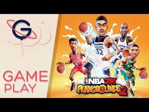 NBA 2K PLAYGROUNDS 2 - Gameplay FR
