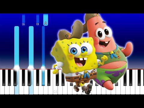 Swae Lee, Tyga, Lil Mosey - Krabby Step (The Spongebob Movie: Sponge On The Run) (Piano Tutorial)