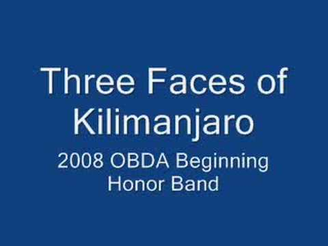 2008 OBDA Beginning Honor Band: Three Faces of Kilimanjaro