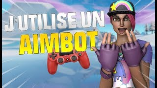 MY AIMBOT ON FORTNITE! CONTROLLER PLAYER