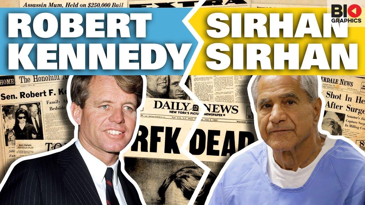 Sirhan Sirhan: six Kennedy children condemn decision to grant killer ...
